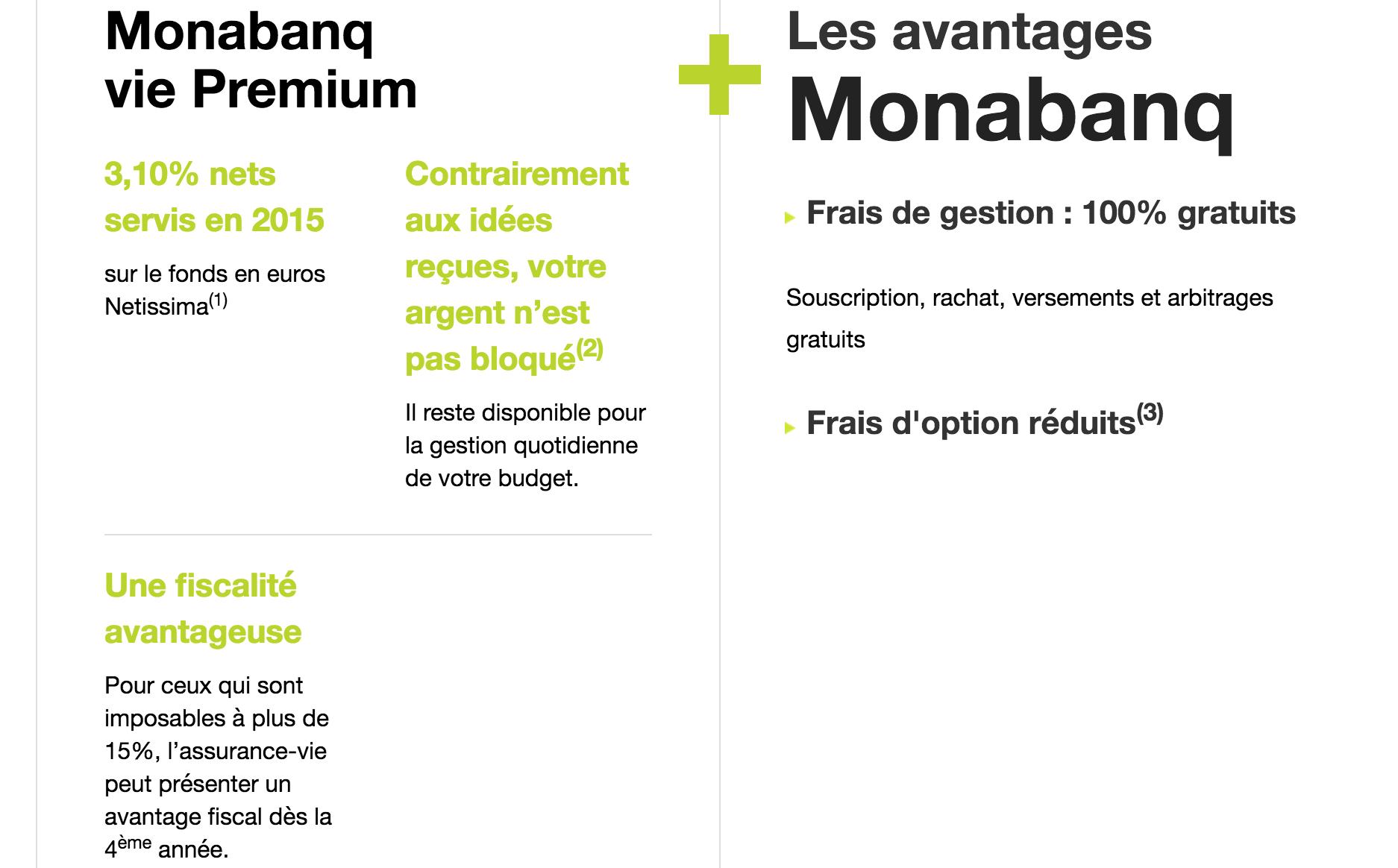 Rendement exceptionnel pour l'Assurance Vie Monabanq