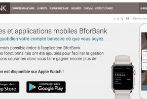 BforBank sur Apple Watch