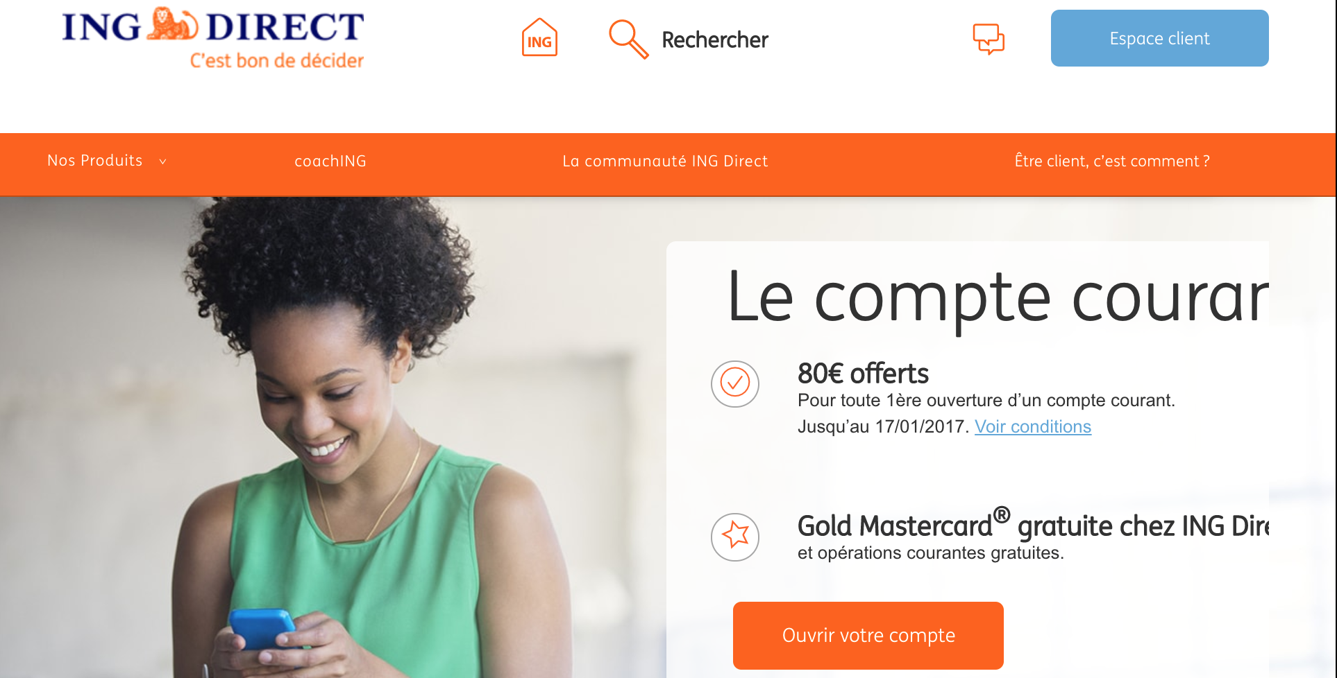 Pourquoi ouvrir un compte joint ING Direct ?