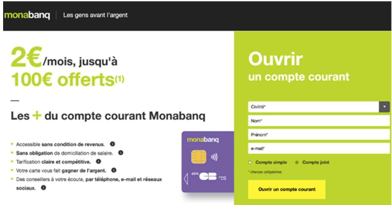 Ouvrir un compte joint Monabanq sans aucun frais