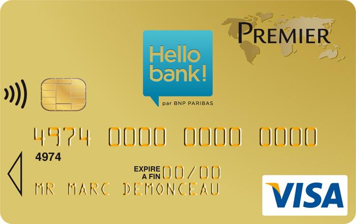 Quelles sont les cartes bancaires gratuites chez Hello Bank ?