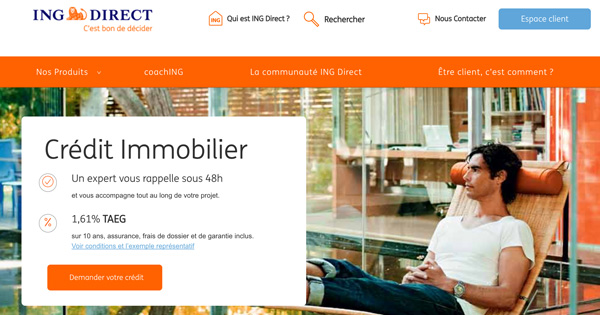 Crédit Immobilier ING Direct