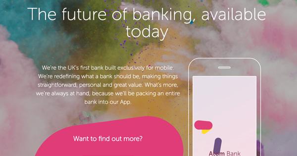 La FinTech britannique Atom Bank lève encore des fonds