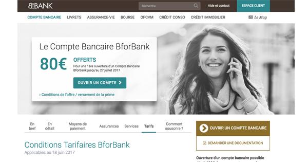 Découvert BforBank : à quoi faut-il s'attendre en agios ?