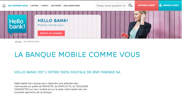 Effectuer virement Hello Bank
