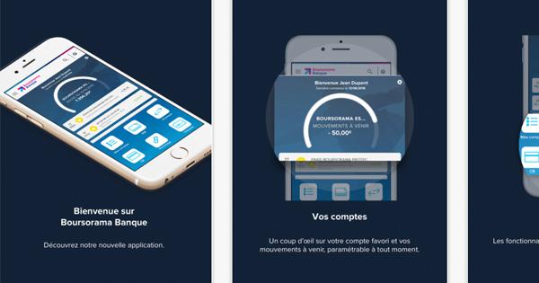 Application mobile Boursorama Banque : le top du marché ?