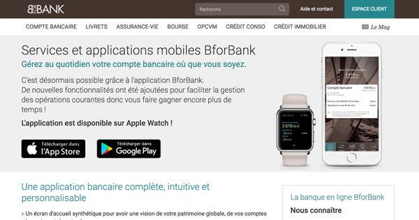 Application mobile BforBank : notre avis sur leurs performances