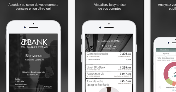 Application mobile BforBank