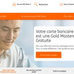 Carte bancaire ING Direct