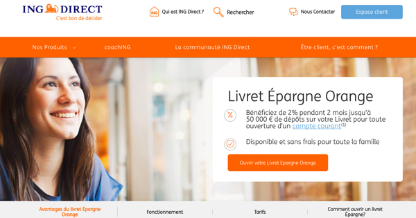 Livret Epargne Orange