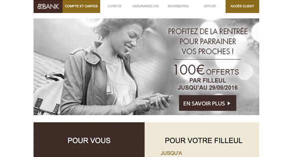 Parrainage BforBank : 180 euros de prime à se partager !