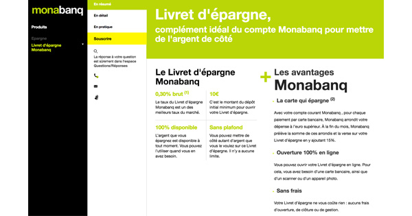 Livret Epargne Monabanq : quel taux et quelles caractéristiques ?
