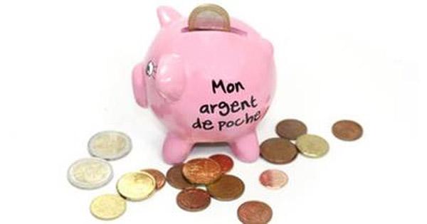 Fortuneo étudie l'argent de poche qui est donné aux enfants