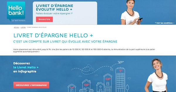 Livret Hello+ Hello Bank