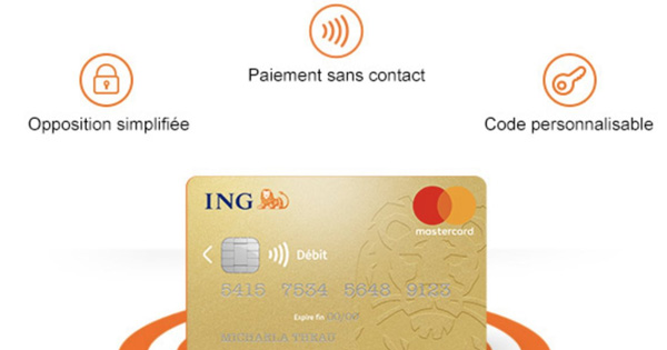 Nouvelle carte ING Direct