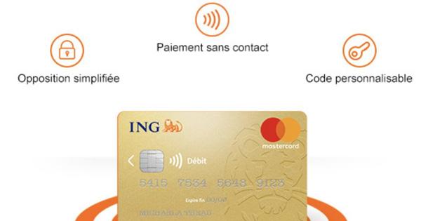 Ing Direct Officialise Une Carte Bancaire Avec Paiement Sans