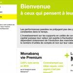 Avis Monabanq Vie Premium