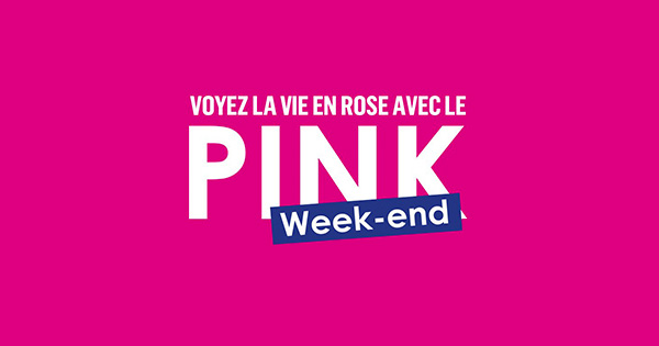 Code promo Pink Weekend Boursorama