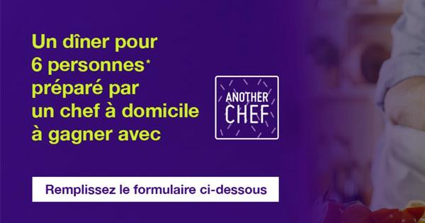 Monabanq fait gagner un diner Another Chef sur Demotivateur