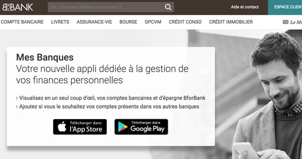 BforBank dévoile sa nouvelle application baptisée « Mes Banques »