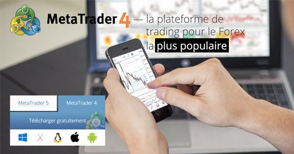 Pourquoi MetaTrader 4 s'est-elle imposée comme la meilleure plateforme de trading du marché ?